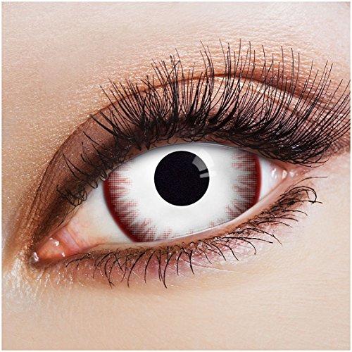 - Rote Katze Kostüme Kontaktlinsen