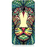 Head Case Designs Coque protectrice pour pour HTC One Motif lion aztèque