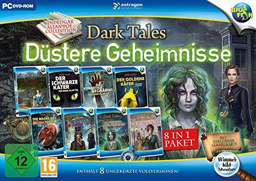 Dark Tales: Düstere Geheimnisse 8 in 1 Paket (Spiele Für Computer-software)