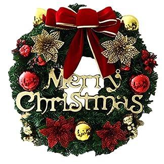 Coxeer-Weihnachten-Dekoration-Krnze-Girlande-Weihnachtsmann-Hngende-Kugel-fr-Zuhause