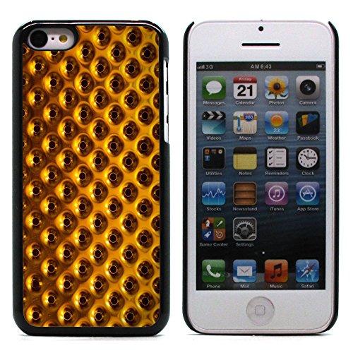 Graphic4You RED STRIPES Muster Harte Hülle Case Tasche Schutzhülle für Apple iPhone 5C Design #9