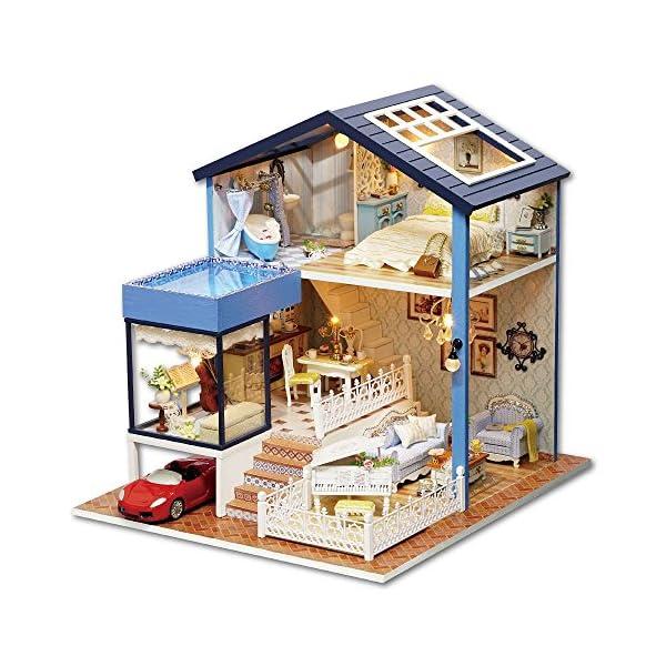 Kit Per Casa Delle Bambole Fai Da Te In Miniatura In Legno Fatta A