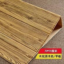 YUELA Grano imitación madera Autoadhesivo 3D Wallpaper Wall-Living Dormitorio Sala Vivero vestido de pared