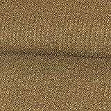 Strickstoff Meliert Taupe Einfarbig Uni Strickjersey Modestoffe Strick melangeeffekt - Preis Gilt für 0,5 Meter