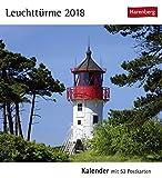 Leuchttürme - Kalender 2018: Kalender mit 53 Postkarten -