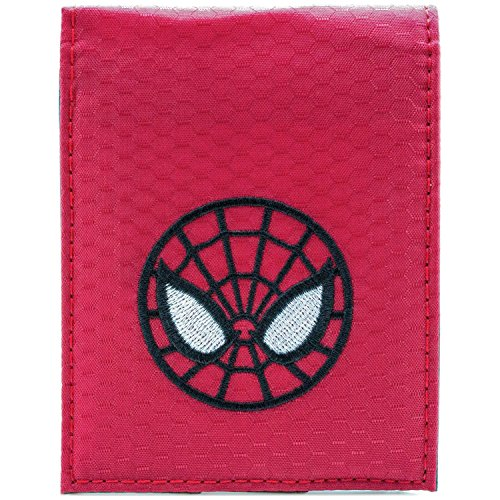 Gesichtsmaske Rot Portemonnaie Geldbörse (The Amazing Spider Man Ps3 Kostüme)
