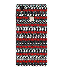 EPICCASE ethnic design Mobile Back Case Cover For VIVO V3 (Designer Case)
