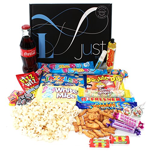 Easter gifts for her amazon retro sweets gift hamper with a twist just treats lunar gift box jam packed with the best retro sweets and a glass coke bottle great easter gift for him negle Gallery