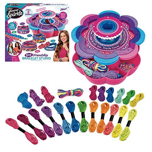 Shimmer n Sparkle Taller de brazaletes y Pulseras 5 en 1 (ColorBaby 46290)
