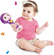 Webby Colorful Baby Rattle with Amazing Sound