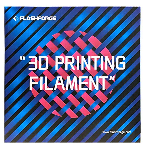 WOL 3D Flashforge PLA 1.75 3D Printer Filament by WOL-3D (Silver)