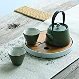 Tee-set kung fu tea set keramische teekanne für heim-nutzung chinesisch-stil office tea set-C
