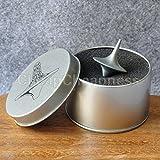 Zhoke, trottola con giroscopio in lega di zinco argento, imitazione accurata della trottola del film Inception