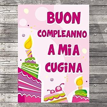 Biglietto D Auguri Specifico Di Compleanno Buon Compleanno A Mia