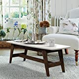 Best Mid Century - DecorNation Serene Wooden Coffee Table | Movable Table Review