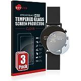 savvies Pellicola Vetro Temperato Compatibile con Skagen Smartwatch Falster 2 (3 Pezzi) Protezione Protettivo Schermo…