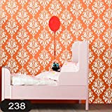 #4: Kayra Decor reusable Wall Stencil for Wall Decor / DIY Painting Stencil / Durable than Wall Stickers in (16 x 24) inches (Plastic Sheet)