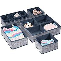 mDesign caisson dressing (set de 4) – aménagement placard idéal pour l'armoire dans la chambre d'enfant avec plusieurs…