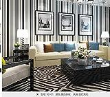 DUOCK Neue High-End-Modernen, minimalistischen Farbstreifen Non-Woven Tapete Wohnzimmer Schlafzimmer Hintergrund Restaurant Tapeten, 16101
