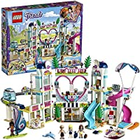 LEGO 41347 Friends Heartlake City Resort, Holiday Dolls House, Hotel with Monorail and Beach Water Park