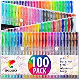 Best Gel Pens For Colorings - Zenacolor 100 Gel Pens with Case - Extra Review