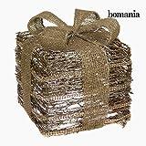 Caja Decorativa Hierro Rattan ist & # x2DC; ampanie dorado by homania