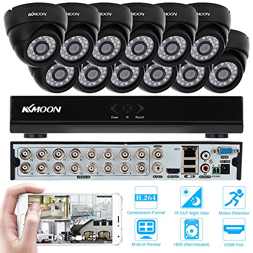 KKmoon-Kit-Sistema-de-Vigilancia-16CH-H264-960HD1-DVR-12x-800TVL-Cmara-Domo-CCTV-IR-Cut-P2P-Visin-Nocturna-Deteccin-de-Movimiento