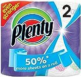 Plenty Fat Designer Kitchen Towel ( 2 Packs of 6 Rolls, Total 12 Rolls)