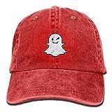Voxpkrs Cute Ghost Blood Fashion Adjustable Baseball Caps Washed Cowboy Hat Vintage Solid Color Retro Classic Unisex DV2090