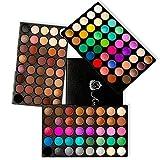 AMBITO 120 colores Paleta de sombra de ojos cosmética maquillaje Kit Set Profesional sombra de ojos del reflejo Mate Disponible Belleza Ojo Shadow Conjunto de Paleta
