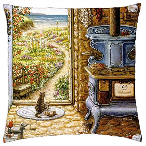 Waiting For Glyn And Francine - Throw Pillow Cover Case (18\