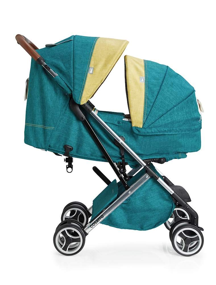 Cosatto Woosh XL Pushchair, Suitable from Birth to 25 kg, Hop to It Cosatto Compact from-birth pushchair. carries up to 25kg child, so you can use it for longer. Hands full? it's lightweight with one-hand fold into compact bundle. easy to store. It can even carry dock 0+ car seat (sold sep) just pop onto the adaptors (sold sep). 2