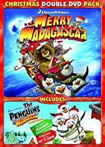Merry Madagascar Amp Penguins Of Madagascar Christmas Caper