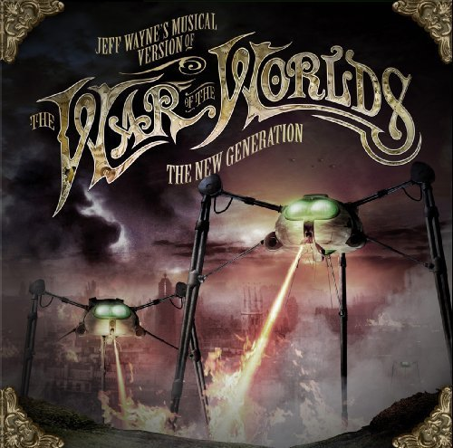 Jeff Wayne\'s Musical Version Of The War Of The Worlds - The New Generation by Jeff Wayne album (2012) Audio CD