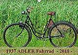 1937 ADLER Fahrrad (Wandkalender 2018 DIN A3 quer): Adler Damenfahrrad von 1937 (Monatskalender, 14 Seiten ) (CALVENDO Kunst) [Kalender] [Apr 01, 2017] Herms, Dirk
