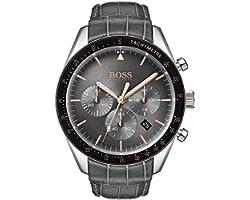 Hugo Boss Men's Chronograph Quartz Watch with Leather Strap 1513628