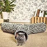 Pawz Road Luxus Katzentunnel im Leoparden-Design, 55*25 cm - 4