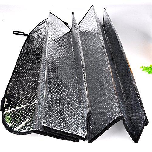 anageo (TM) faltbar Auto wehicle vorne hinten Windschutzscheibe Sonnenschutz Sonnenschutz mit...