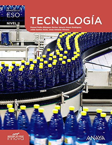 Tecnología. Nivel II. (Aprender es crecer innova) - 9788467852660 por Jesús Almaraz Olivares
