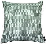 McAlister Textiles Aztec Kollektion | Extragroßer Kissenbezug im Geometrischen Colorado-Muster | 60cm x 60cm in Hellem Blau | Deko Kissenhülle für Sofa, Bett, Couch, Kissen