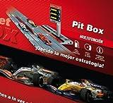 Scalextric Digital System - Set de Pit box para repostar gasolina; accesorio de pista digital (D02506S100)