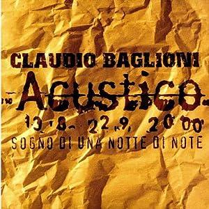 Claudio Baglioni - Sogno di una notte di note