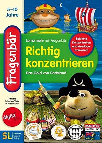 Fragenbär - Richtig konzentrieren-Das Gold v. Pottsland (Geistige Dvd)