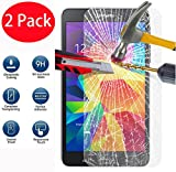 FoneExpert® 2 Pack - Samsung Galaxy Note 4 Panzerglas, Gehärtetem Schutzfolie Glasfolie Hartglas Panzerfolie Displayschutzfolie für Samsung Galaxy Note 4
