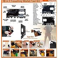 truevine TM 18in 1multiuso tascabile multifunzione tasca strumento cacciavite, Apriscatole + Free a portafoglio, novità Idea regalo calza