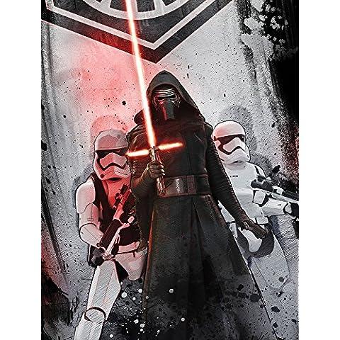 Star Wars episodio 7 - coperta di pile - lato