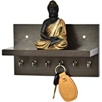 Anikaa Volt Key Holder with Shelf - (Wenge)