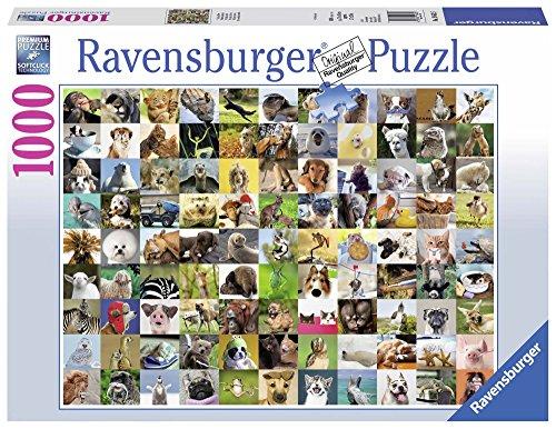 Ravensburger 19642 99 Lustige Tiere Puzzle