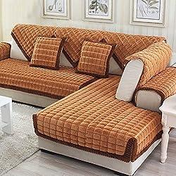 MEHE@ Romantik stilvoll Persönlichkeit kreativ Dick einfache Moderne Sofa Kissen Winter Ledersofa Kissen Sofa-Sets Sofa Handtücher Sofaabdeckung Sofa-Überwürfe (größe : 70 * 180cm)