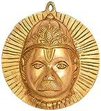 Lord Hanuman Wandbehang Maske–Messing Statue
